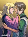Commission: Yasuo and Portia