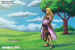 Commission: Zelda by avimHarZ