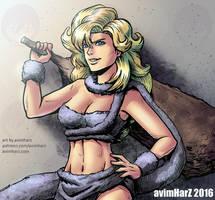 Fanart: Ayla from Chrono Trigger by avimHarZ