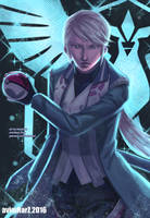 Fanart: Blanche from Pokemon Go/Team Mystic by avimHarZ