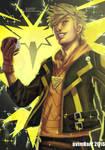 Fanart: Spark from Team Instinct/Pokemon Go