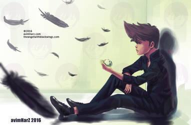 OC: Alone by avimHarZ