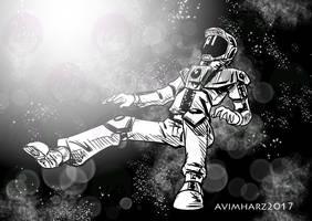 Quick Sketch: Outer Space by avimHarZ