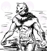 Quick Sketch: Wolfy by avimHarZ