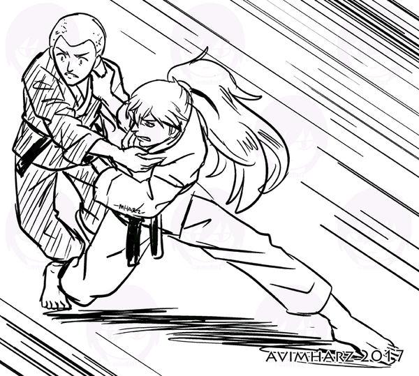 Quick Sketch: Practice fight sketch no. 7 by avimHarZ