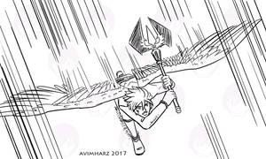 Quick Sketch: Silver fight sketch no. 2 by avimHarZ
