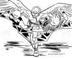 Quick Sketch: Silver fight sketch no. 4