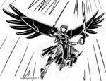 Quick Sketch: Mecha Angel