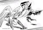 Quick Sketch: Silver slash