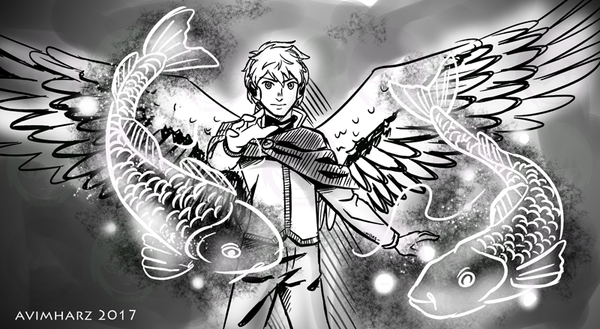 Quick Sketch: Archangel Raphael by avimHarZ