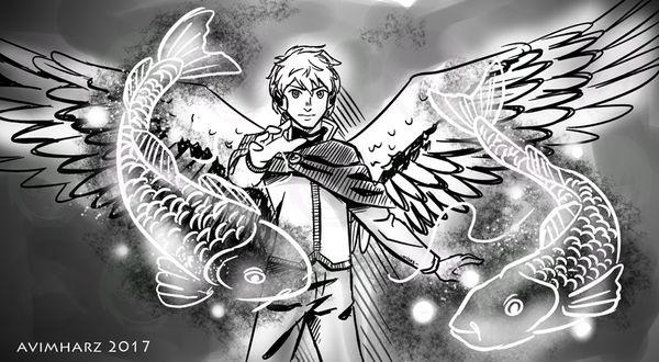 Quick Sketch: Archangel Raphael by avimHarZ