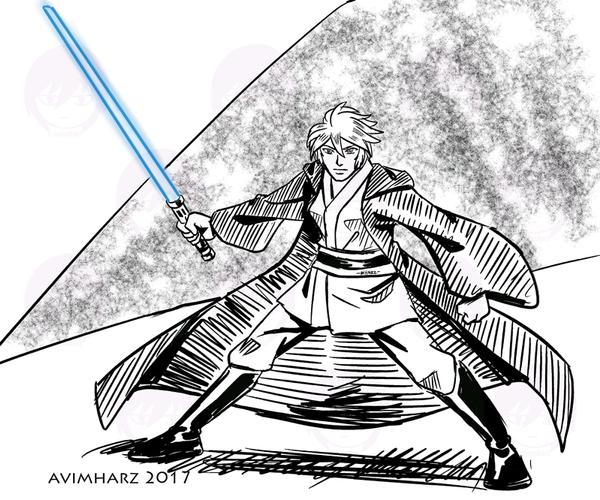 Silver Wan Kenobi by avimHarZ