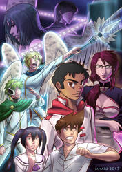 THE ANGEL WITH BLACK WINGS Volume 3 Promo poster