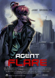 Agent Flare movie poster