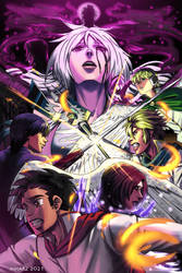 The Angel with Black Wings Volume 5 poster