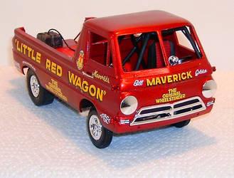 Golden's 'Littel Red Wagon' by gberzzerk