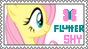 Fluttershy Stamp *edit* by CritterInvasion