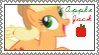 Applejack Stamp *edit* by CritterInvasion