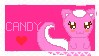 Candy The Skunk Stamp *request* by CritterInvasion