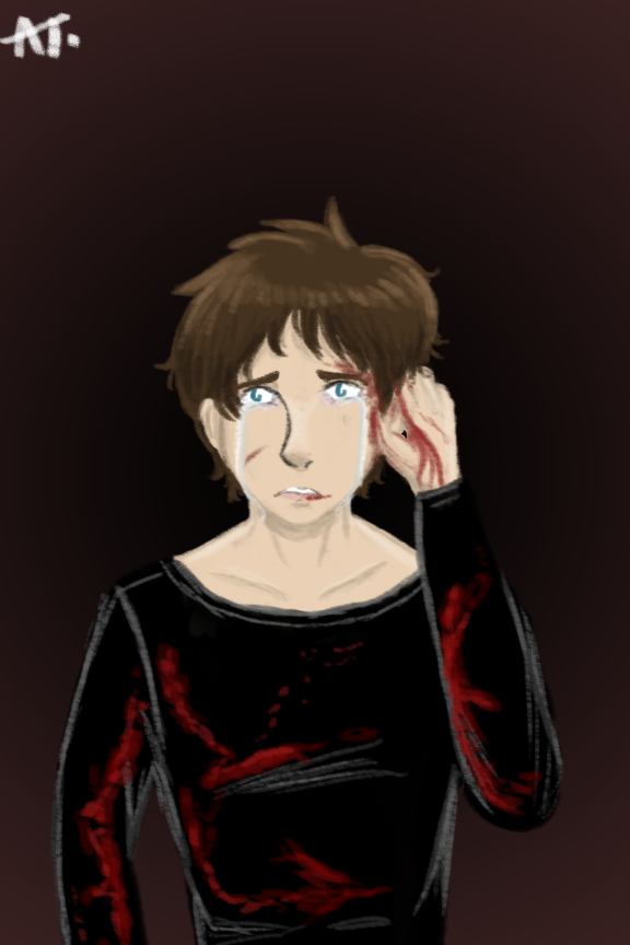 Angsty Eren by CritterInvasion