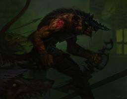 Skaven attack by theLateman