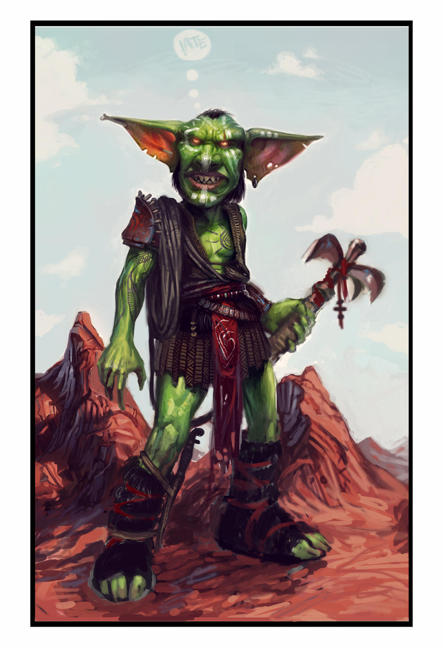 Goblin grappling hook thrower by theLateman