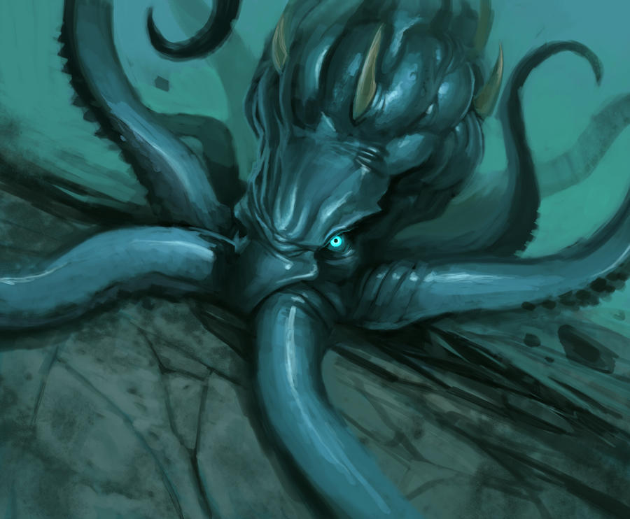 Kraken by theLateman on DeviantArt