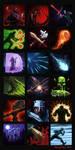 Skill icons Aralon by theLateman