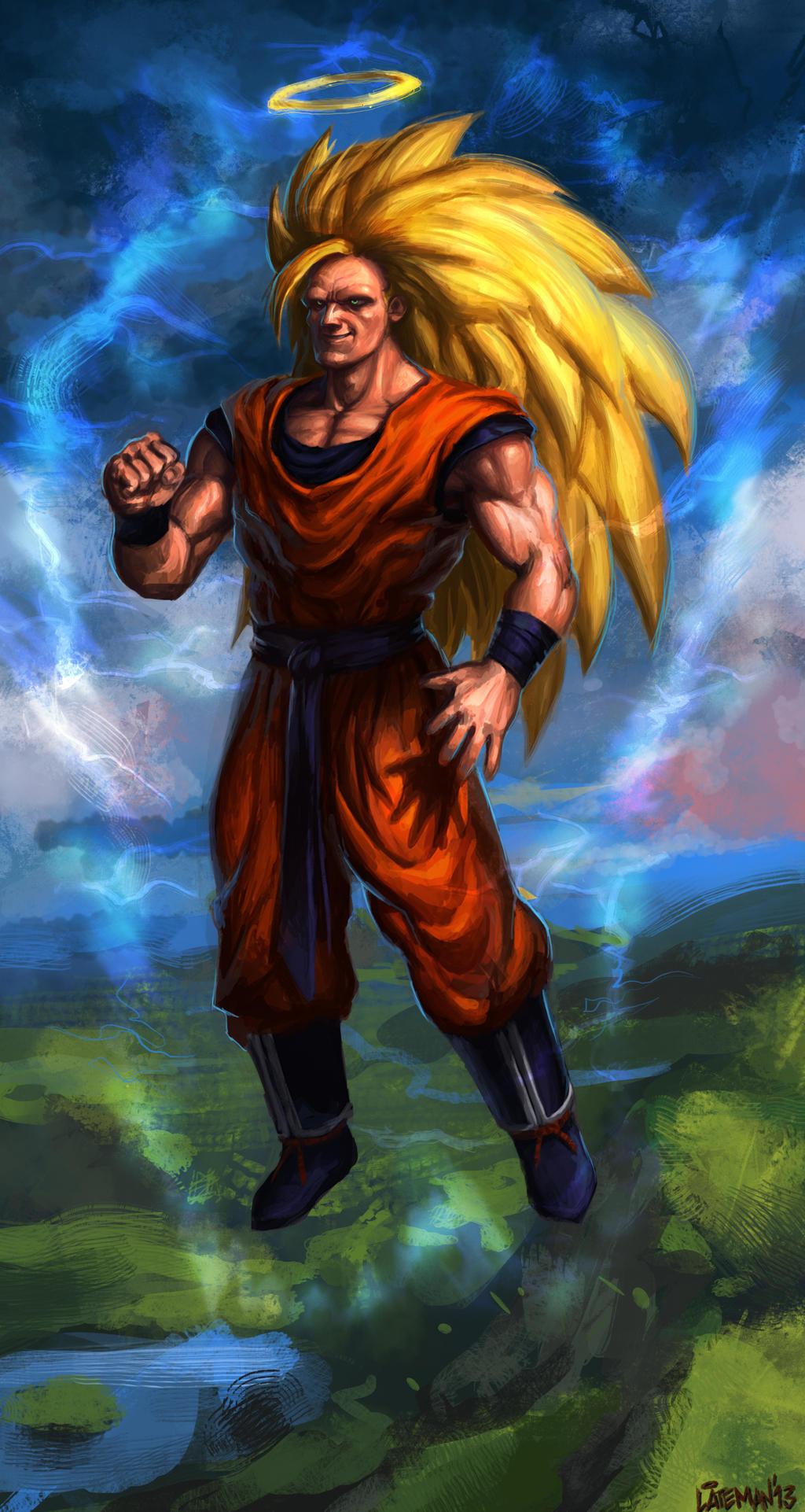 Goku Super Saiyan 10000000000000000000000000000000000000000000000000000000000 Goku Super Saiyan leve...