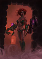 Claw Sorceress by theLateman