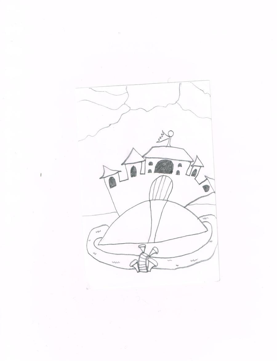the forrest castle by thecrazyworldofjack