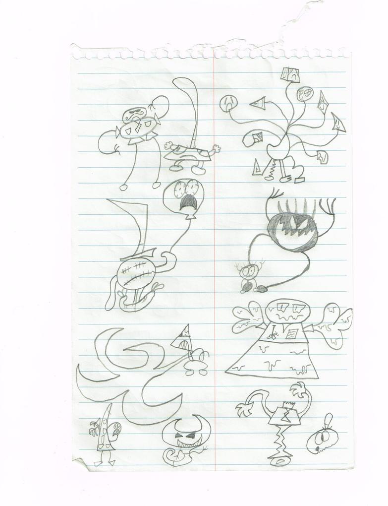 monsters of huffington 4 by thecrazyworldofjack