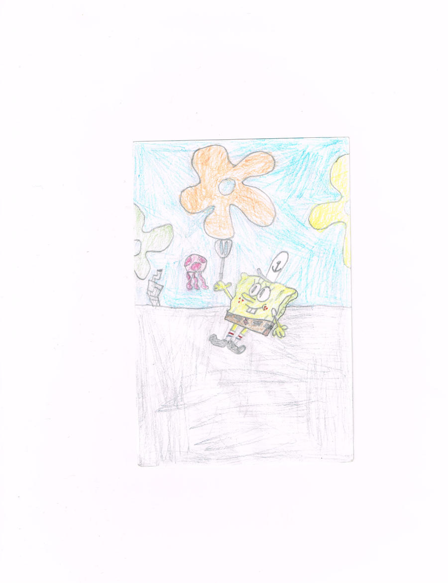 spongebob squarepants by thecrazyworldofjack