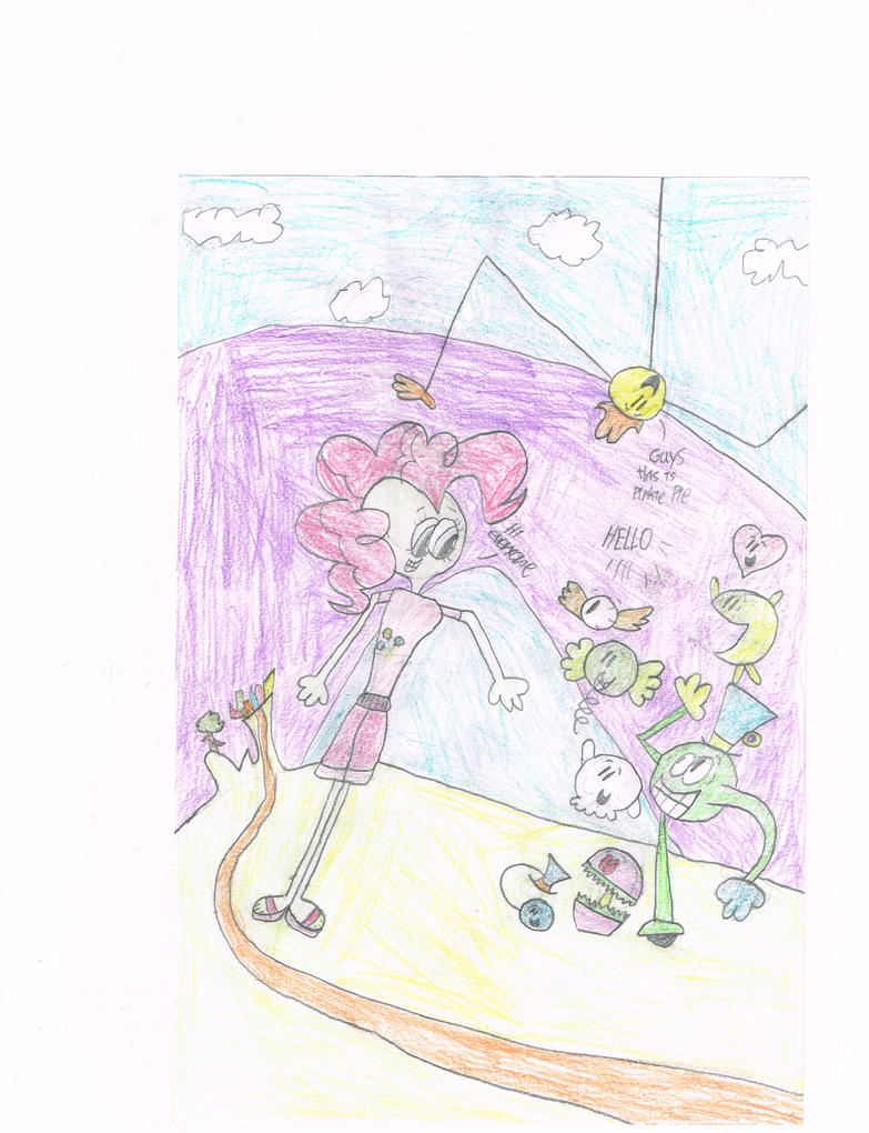 pinkie pie meets huffington's craziest people by thecrazyworldofjack