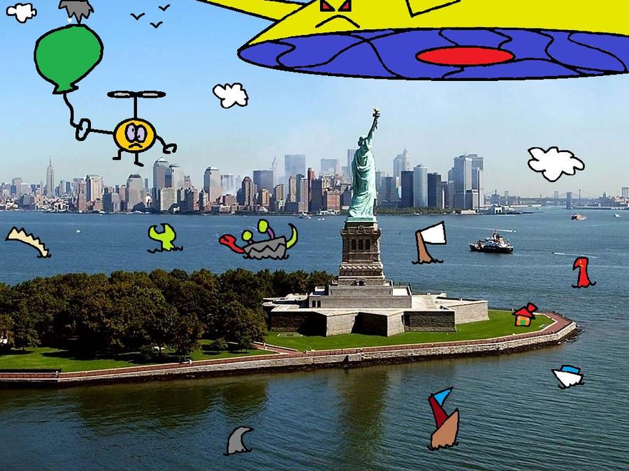 new york is crazy by thecrazyworldofjack