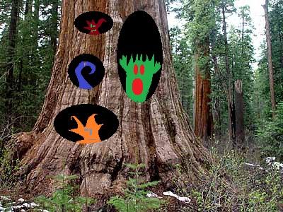 tree animals by thecrazyworldofjack