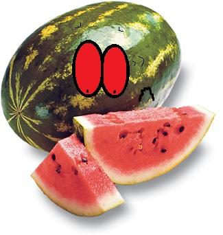 watermelon slice by thecrazyworldofjack