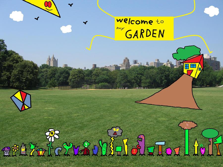 welcome to my garden by thecrazyworldofjack