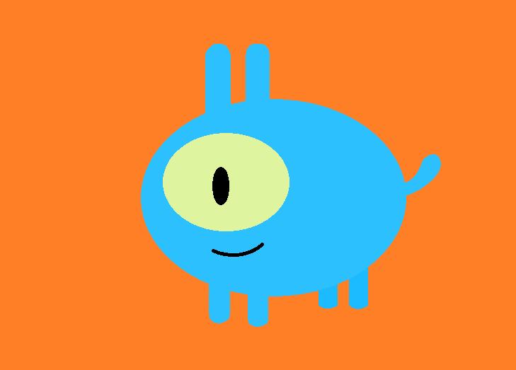 Blue Dog by thecrazyworldofjack