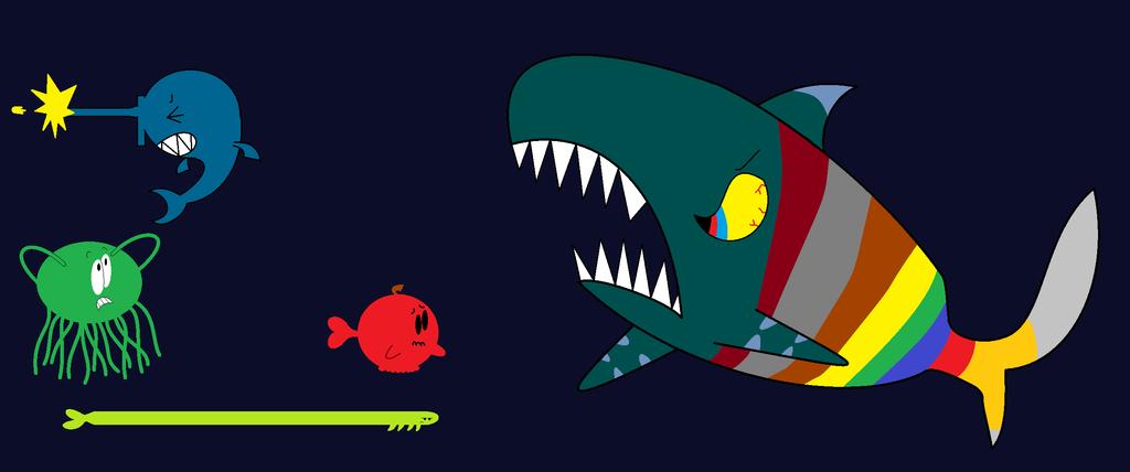 Creatures of the Ocean by thecrazyworldofjack