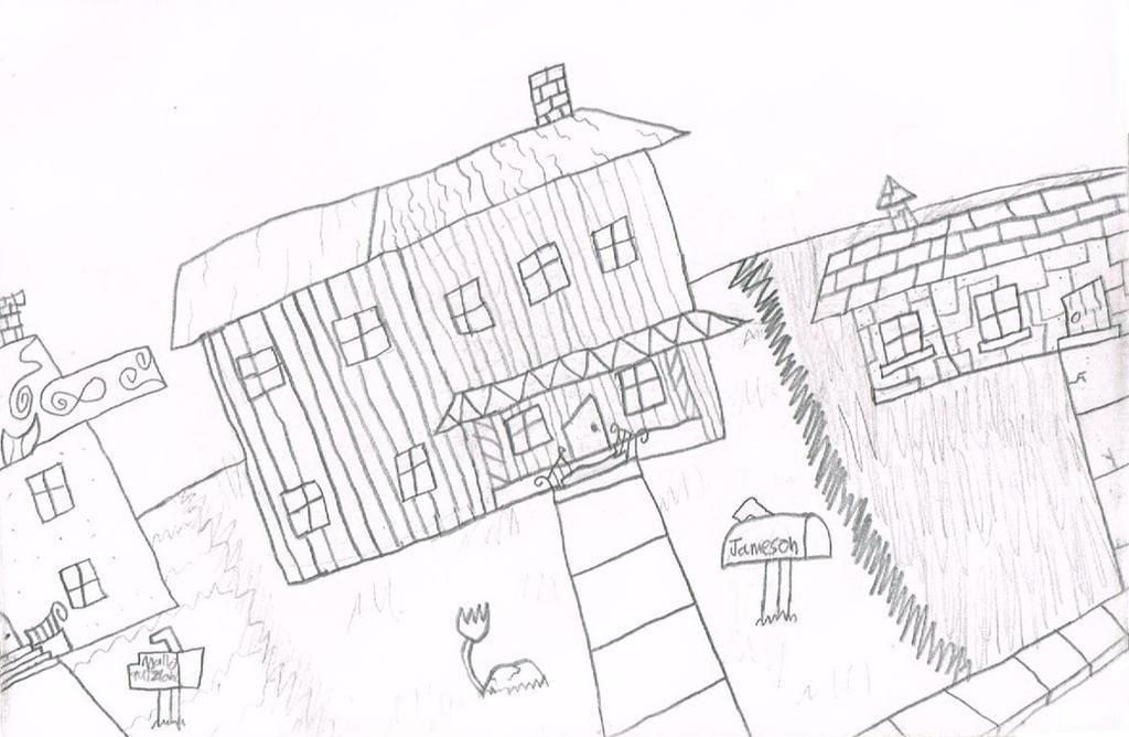 The Jameson's House by thecrazyworldofjack