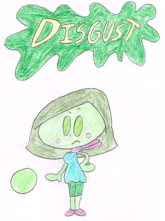 Little Disgust by thecrazyworldofjack