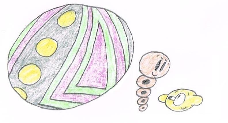 Colored Neighbors 6 - Giant Ball, Snake and Lemon by thecrazyworldofjack