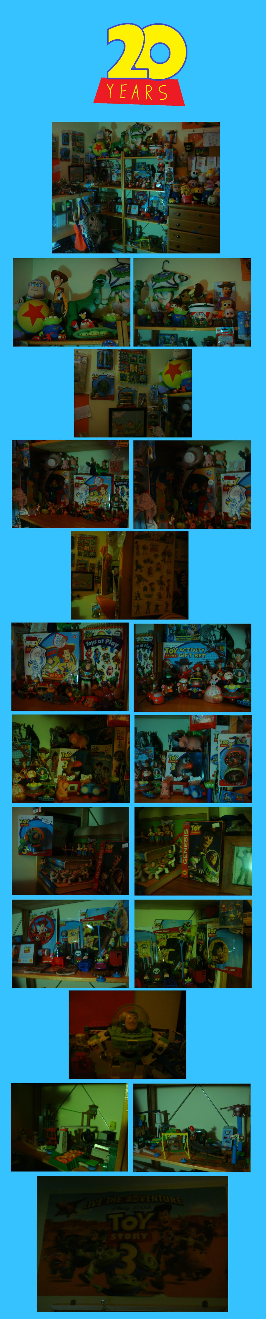 My Toy Story Collection by thecrazyworldofjack