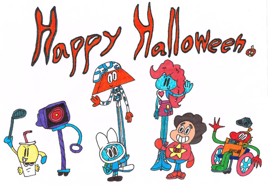 Happy Halloween from The Jameson Costume Group (Co by thecrazyworldofjack