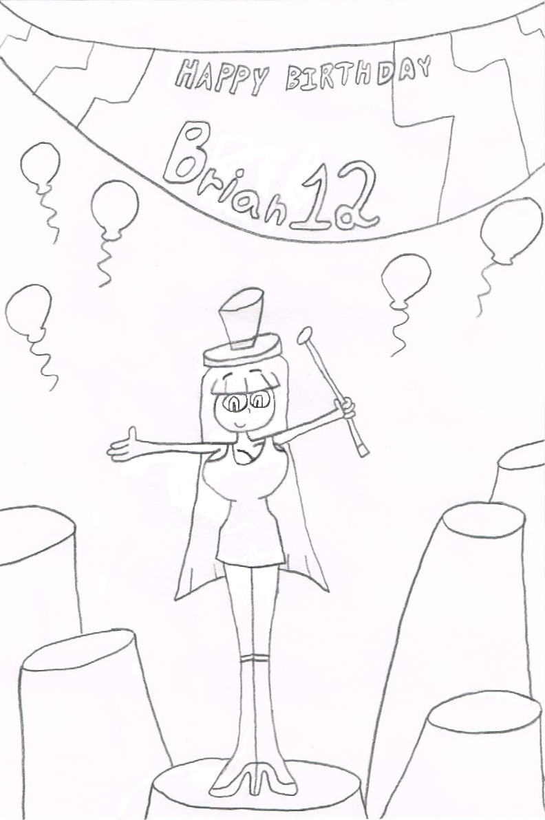Happy Birthday Brian12 by thecrazyworldofjack