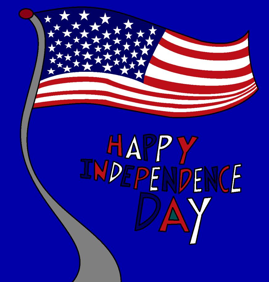 Happy Independence Day 2016 by thecrazyworldofjack