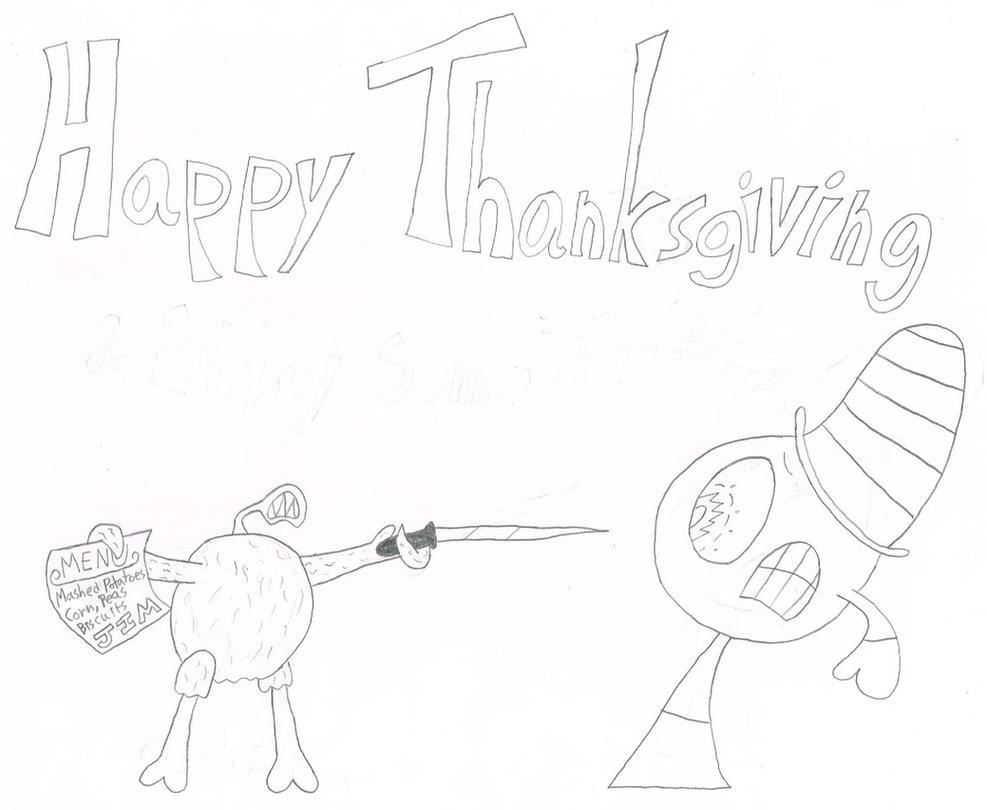Happy Thanksgiving 2016 by thecrazyworldofjack