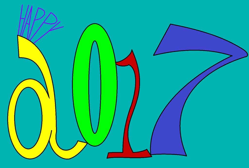 Happy New Year (2017) by thecrazyworldofjack