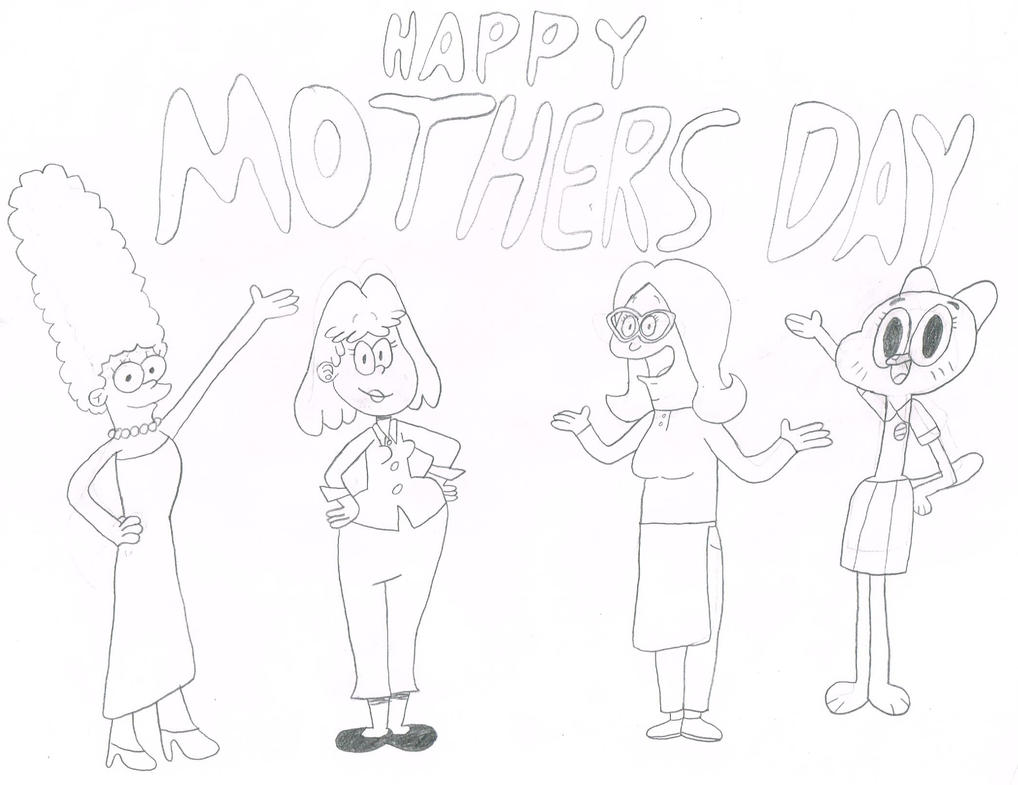 Happy Late Mother's Day by thecrazyworldofjack